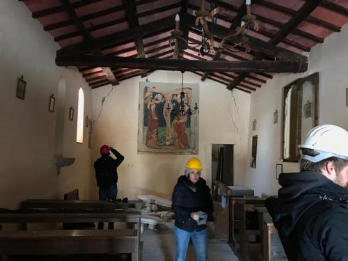 Cassino / Sopralluogo del 28 febbraio 2018 nella Chiesa di S. Lorenzo Martire